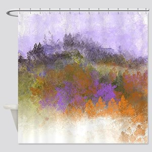 Lavender Sky Shower Curtain
