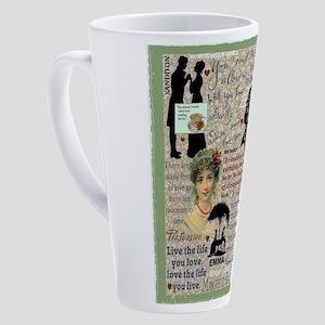 Austen 17 Oz Latte Mug