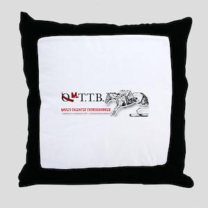 MTTB: Multi-Talented Thoroughbred Throw Pillow