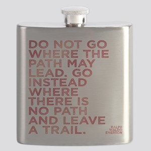 Do Not Go Where The Path May Lead. Flask