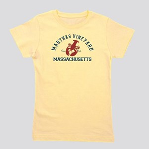 Martha's Vineyard. Girl's Tee