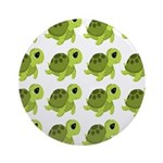 Sea Turtles Ornament (Round)