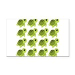 Sea Turtles Rectangle Car Magnet