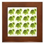 Sea Turtles Framed Tile