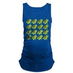 Sea Turtles Maternity Tank Top