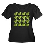 Sea Turtles Plus Size T-Shirt