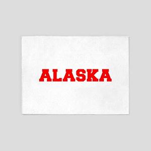 ALASKA-Fre red 600 5'x7'Area Rug