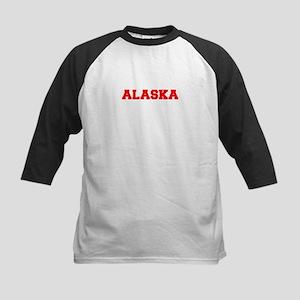 ALASKA-Fre red 600 Baseball Jersey