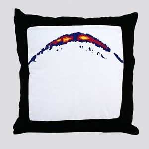fish sonar Throw Pillow