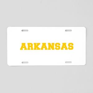 ARKANSAS-Fre gold 600 Aluminum License Plate