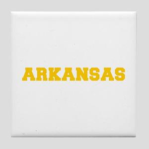 ARKANSAS-Fre gold 600 Tile Coaster
