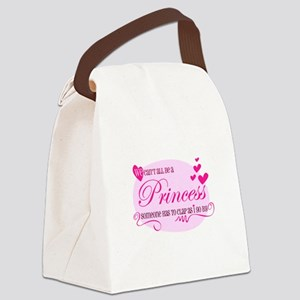 I'm the Princess Canvas Lunch Bag