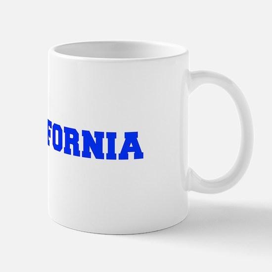 California-Fre blue 600 Mugs
