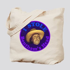 Bentham's Head (Purple) Tote Bag