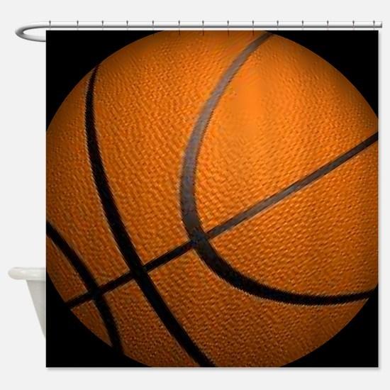 Basketball Sports Shower Curtain