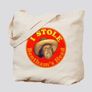 Bentham's Head (Red) Tote Bag