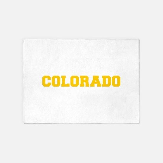 COLORADO-Fre gold 600 5'x7'Area Rug