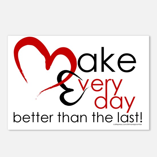 Make Every day Postcards (Package of 8)