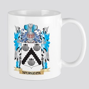 Spurgeon Coat of Arms - Family Crest Mugs