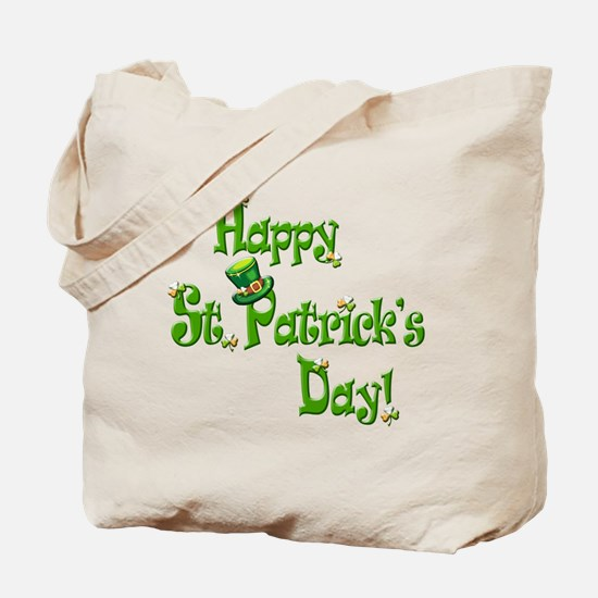 Happy St. Patricks Day Tote Bag