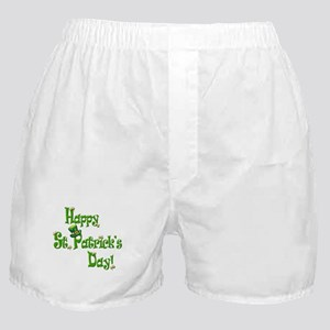 Happy St. Patricks Day Boxer Shorts