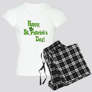 Happy St. Patricks Day Women's Light Pajamas