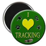 I Love Tracking Magnet