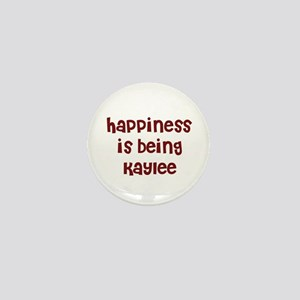 happiness is being Kaylee Mini Button