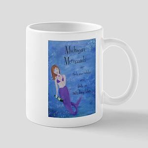 Michigan Mermaids wine Mugs