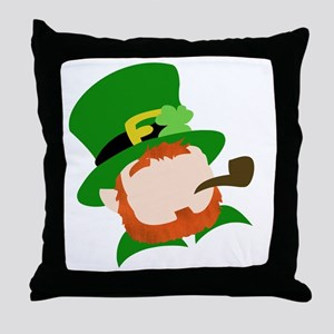 The Leppy Throw Pillow