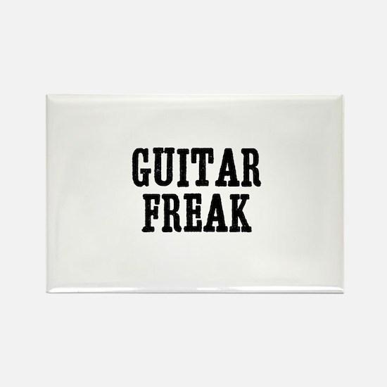 guitar freak Rectangle Magnet