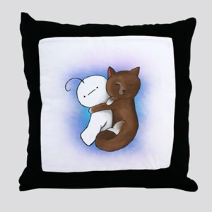 Cuddly Cry Throw Pillow