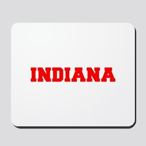 INDIANA-Fre red 600 Mousepad