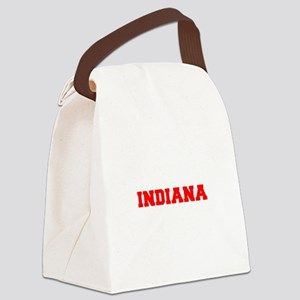 INDIANA-Fre red 600 Canvas Lunch Bag