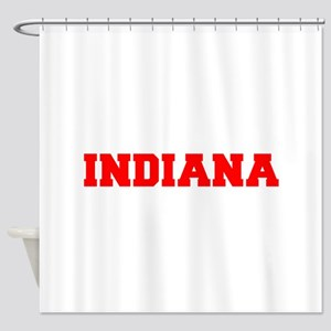 INDIANA-Fre red 600 Shower Curtain
