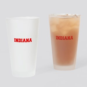 INDIANA-Fre red 600 Drinking Glass