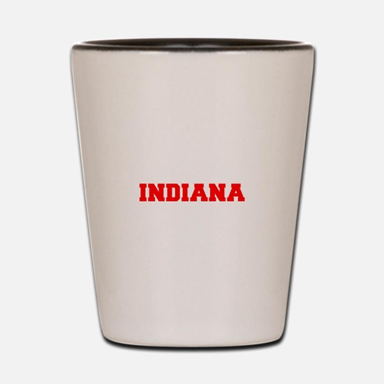 INDIANA-Fre red 600 Shot Glass