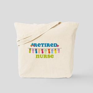 Flip Flops Retired Nurse Tote Bag
