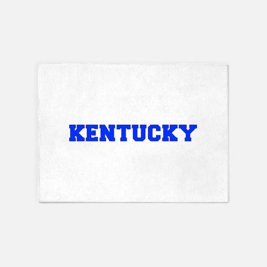 Kentucky-Fre blue 600 5'x7'Area Rug