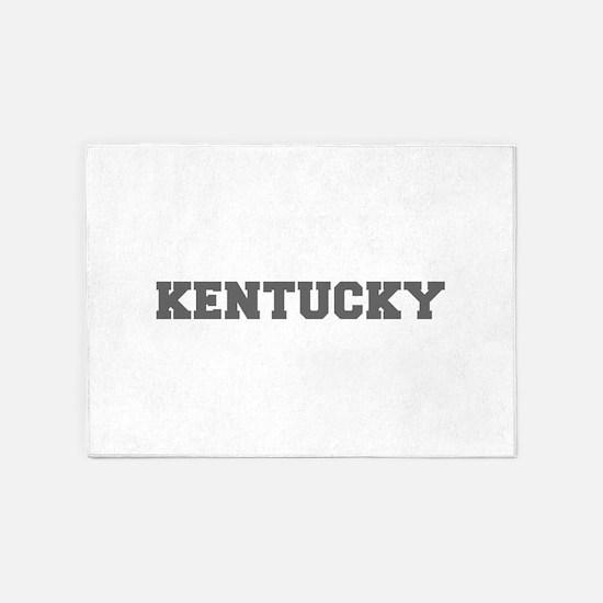 KENTUCKY-Fre gray 600 5'x7'Area Rug