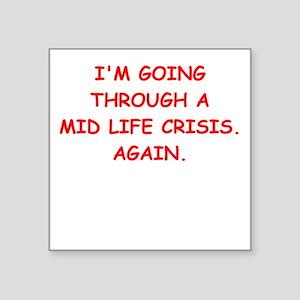 mid life Sticker