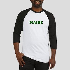 MAINE-Fre d green 600 Baseball Jersey
