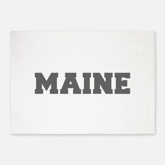 MAINE-Fre gray 600 5'x7'Area Rug
