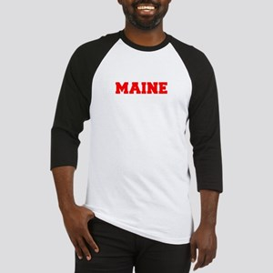 MAINE-Fre red 600 Baseball Jersey