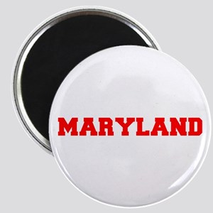 MARYLAND-Fre red 600 Magnets