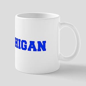 Michigan-Fre blue 600 Mugs