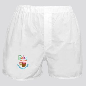 BAKE ME A CAKE Boxer Shorts