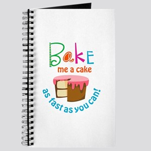 BAKE ME A CAKE Journal