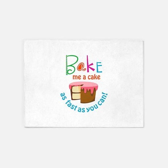 BAKE ME A CAKE 5'x7'Area Rug