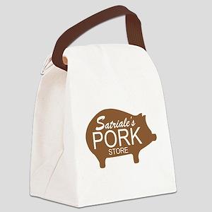 Sopranos Satriales Pork Store Canvas Lunch Bag
